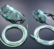 Oxygen mask with tubing - PN1106_1108